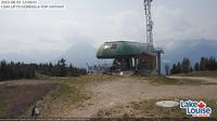 Lake Louise: Ski Area: Temple Lodge camera - El día