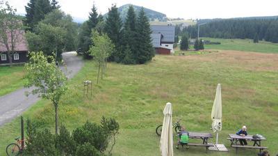 Vista de cámara web de luz diurna desde Jizerka