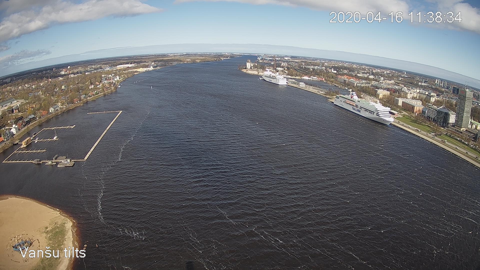 Webkamera Vecrīga: Freeport of Riga