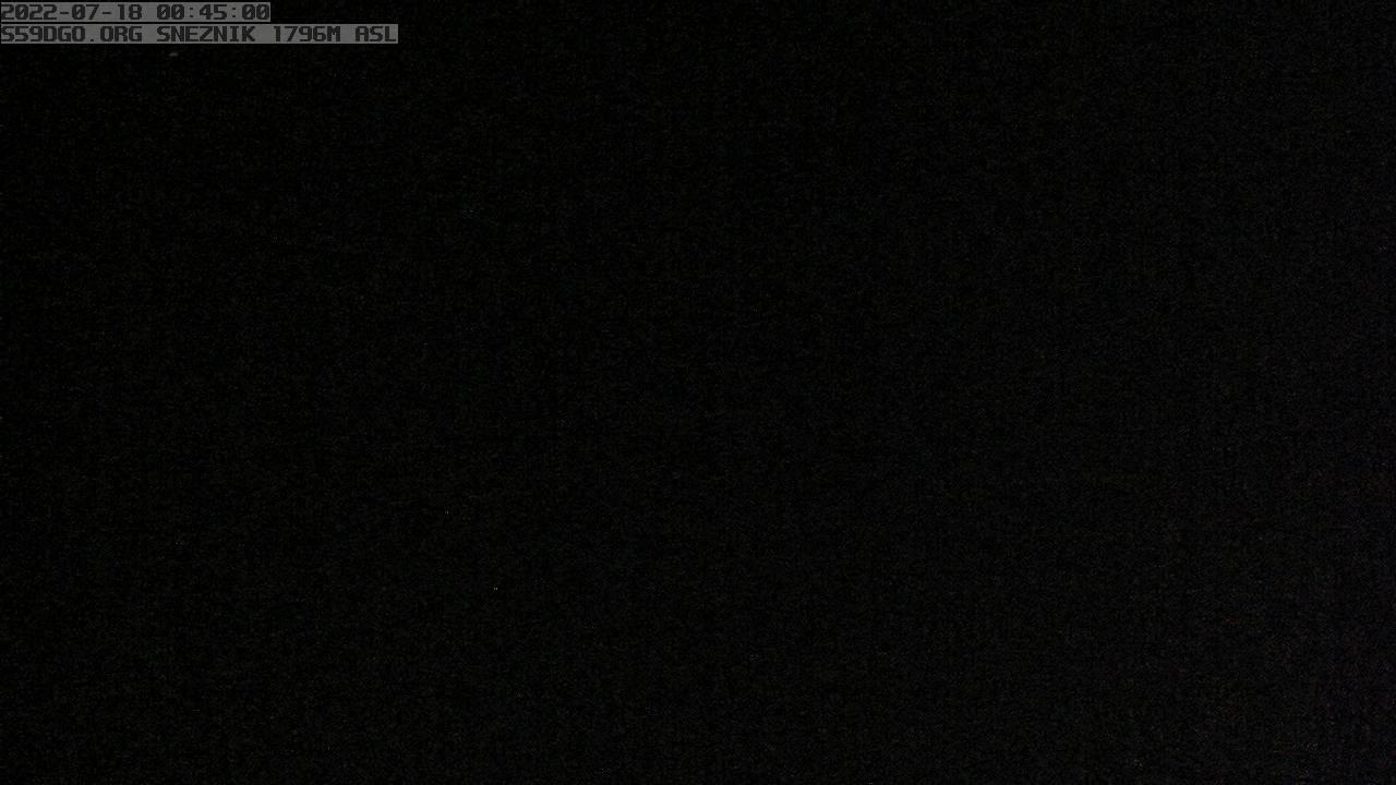 Webcam Leskova Dolina: Mount Sneznik, 1796m ASL