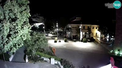 Current or last view from Ledenice: Novi Vinodolski main square