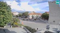 Ledenice: Novi Vinodolski - main square - Aktuell