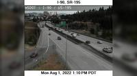 Spokane: I- at MP .: US  Interchange - Overdag
