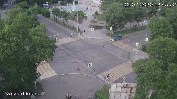 Webkamera Ussuriysk: Ленина − Суханова