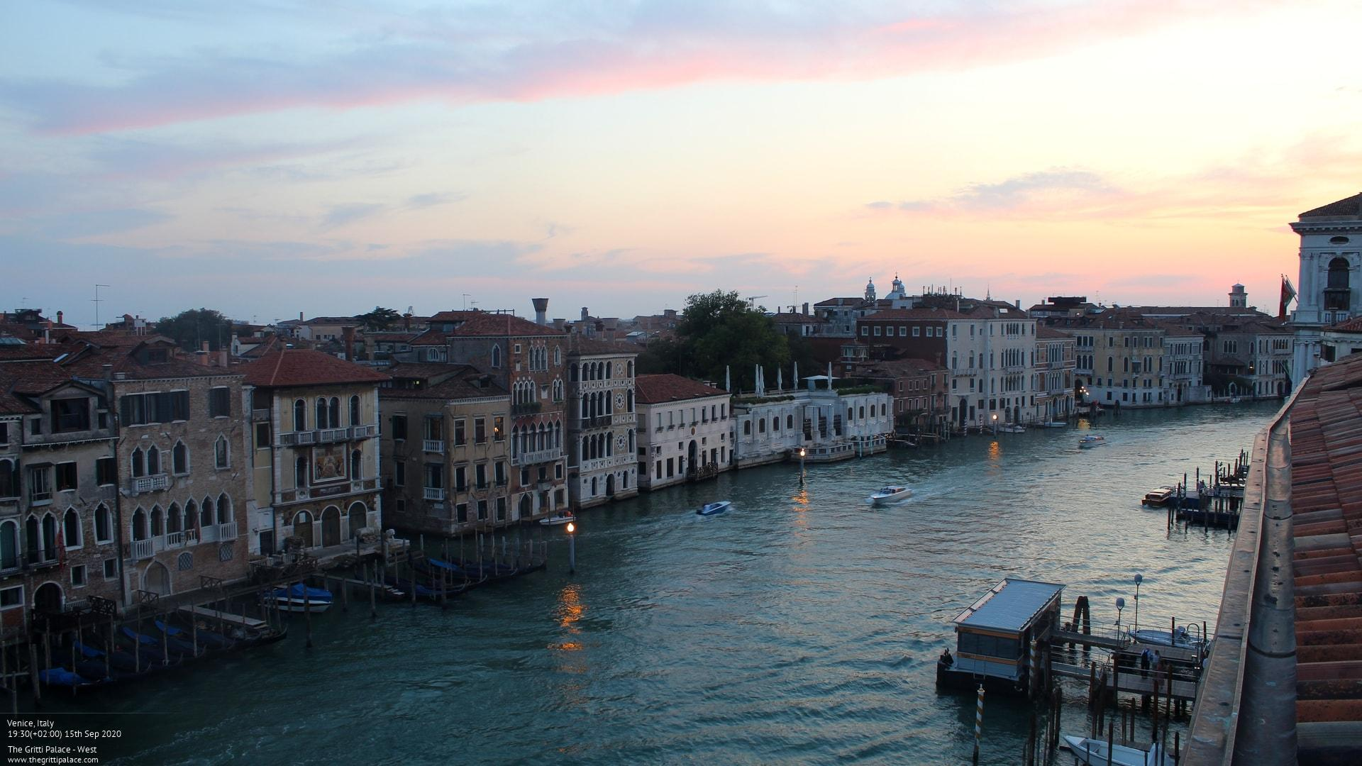 Webcam Venice: The Gritti Palace − west