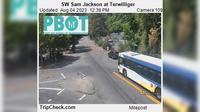 Portland: SW Sam Jackson at Terwilliger - Dagtid