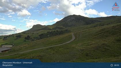 Obersaxen-Mundaun: Obersaxen Mundaun - Untermatt Bergstation