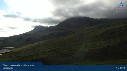 Obersaxen, Affeier Dorf: Obersaxen Mundaun - Untermatt Bergstation