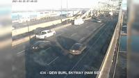 Burlington: QEW - Skyway near lift bridge - Overdag