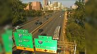 East Hartford > West: CAM - I- WB E/O Exit - Rt.  WB on ramp (Bulkeley Br) - Overdag