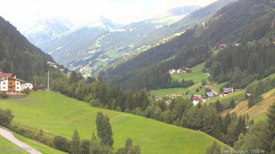 Vue webcam de jour à partir de See im Paznauntal › West: Tiroler Paznauntal: See, Kappl, Ischgl, Galtür