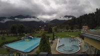 Kotschachdorf: Kötschach Mauthen - Kärnten - Webcam - Aquarena - Blick auf die Karnischen Alpen - Dia