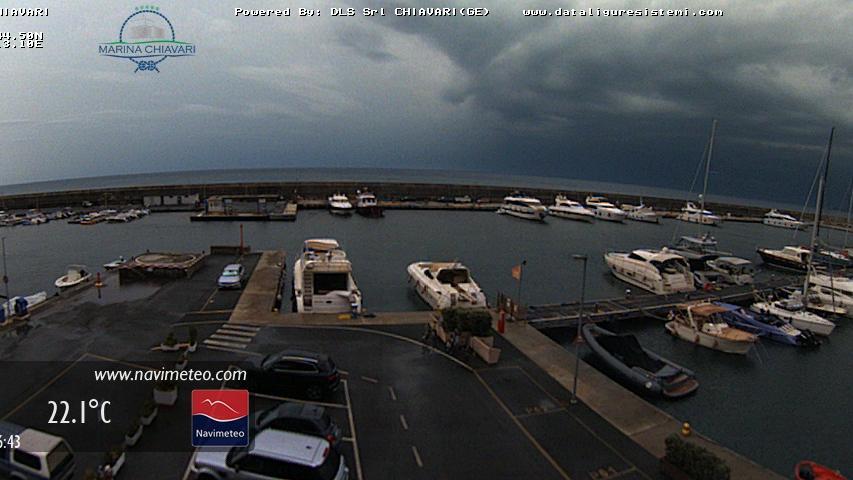 Webcam Chiavari: WebCam − il Porto turistico di