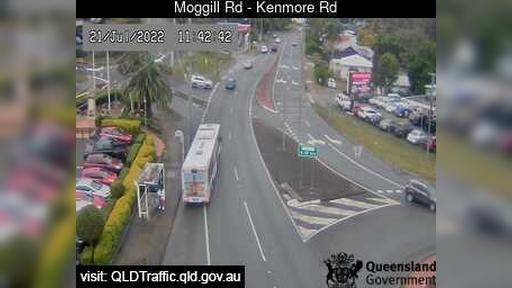 Webcam Kenmore: Moggill Road − Road (East)