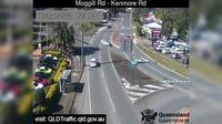 Brisbane City: Kenmore - Moggill Road - Kenmore Road (East) - Day time