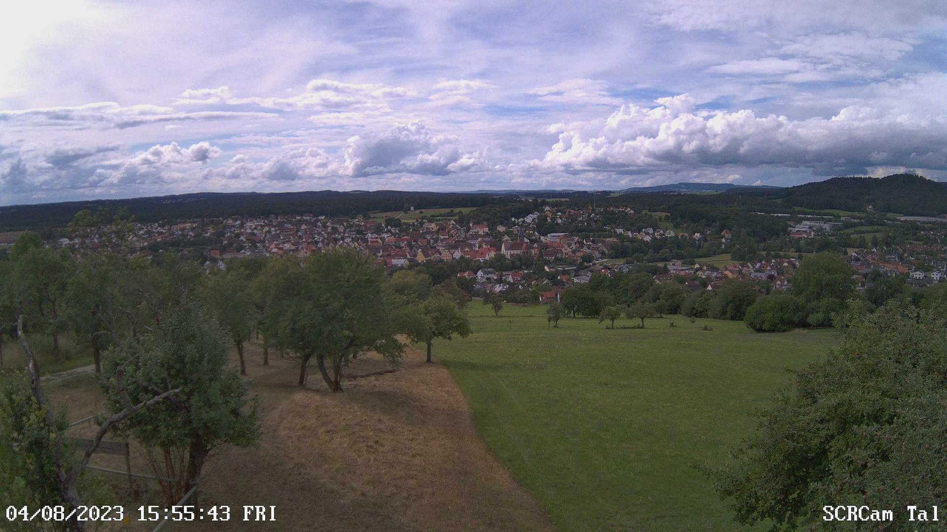 Webcam Schnaittach: Blick auf den Rothenberg