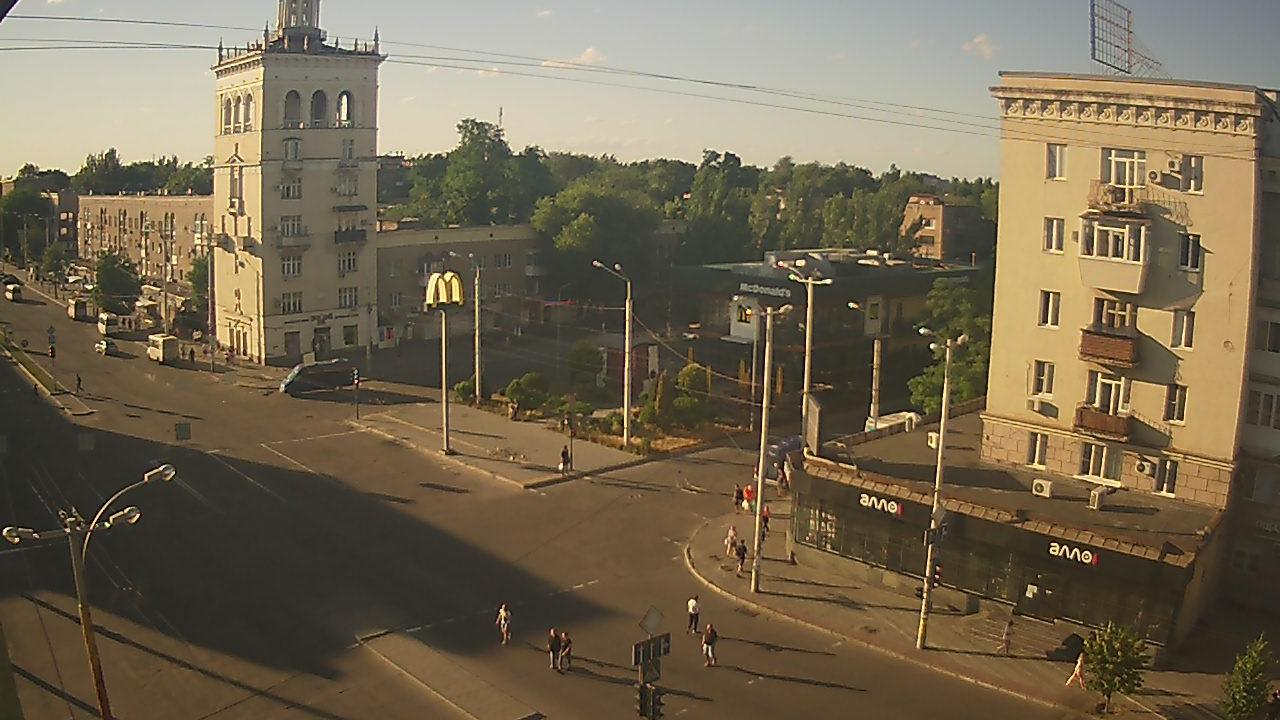Webcam Voznesenka: проспект Металлургов
