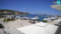 Last daylight view from Zlarin: marine