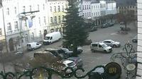 Bad Lobenstein: Thüringen: Marktplatzblick - Dia