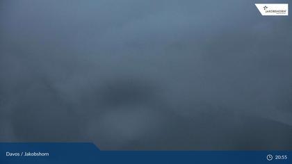 Davos: Platz - Jakobshorn, Blick Rinerhorn
