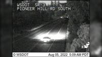Poulsbo › South: SR  at MP .: Pioneer Hill Rd Looking South - Actual