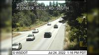 Poulsbo › South: SR  at MP .: Pioneer Hill Rd Looking South - Dia