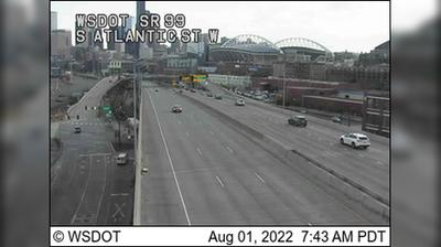 Thumbnail of Seattle webcam at 9:15, Sep 17
