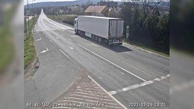 Tageslicht webcam ansicht von Sümeg › South: 84