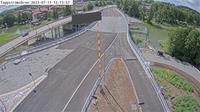 Ekero sommarstad: Tappstr�msbron (Kameran �r placerad p�  Eker�v�gen i h�jd med Tappstr�msbron och �r riktad mot Eker� centrum) - Day time