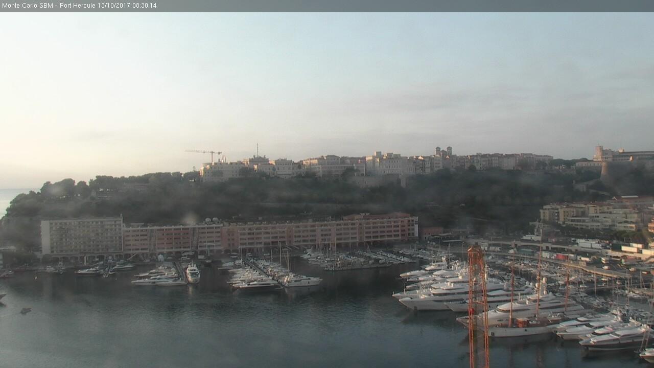 Webkamera Monaco: Port Hercule
