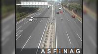 Dobling: A, bei Anschlussstelle Floridsdorfer Br�cke, Blickrichtung Stockerau - Km , - Overdag