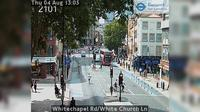 London: Whitechapel Rd/White Church Ln - Overdag