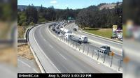 Langford > West: , Hwy  at Spencer Rd, northbound looking west - Overdag