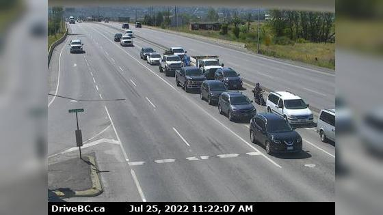Webcam Batchelor Hills › South: Hwy 5 at Halston Ave in K
