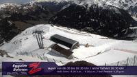 Last daylight view from Lanersbach › South East: Eggalm Bahnen