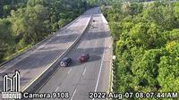 East York: Don Valley Parkway south of Spanbridge Rd - Day time