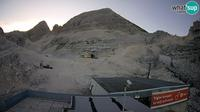 Sella Nevea: Kanin ski resort - View of Prestreljenik