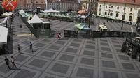 Historic Center: Sibiu - Piata Mica webcam - Day time