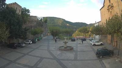 Vue webcam de jour à partir de Villahermosa del Rio: Villahermosa del Río
