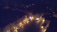 Altenburg: Blick auf den Marktplatz von