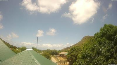 Daylight webcam view from Toiny: Webcam Meteo Devet − St Barthelemy