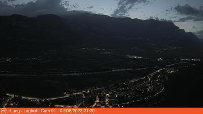 Vignette de Cortina sulla Strada del Vino webcam à 5:03, juil. 23