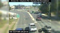 Petrie: Anzac Avenue - Dayboro Road - Gympie Road Roundabout (South-West) - El día