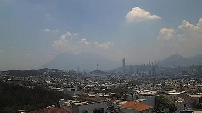 Daylight webcam view from Monterrey: NL − Panorámica