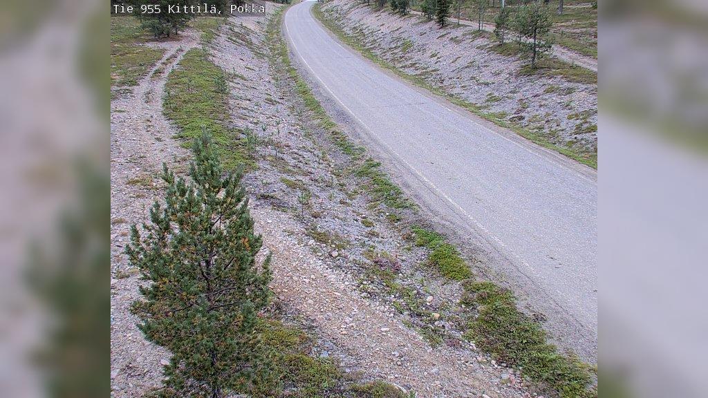 Webcam Kittilä: Tie955 Kittia, Pokka − Kittilään