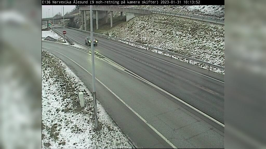 Webcam Ålesund: E136 − Ved Nørvevika
