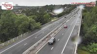 Clydach Vale: M eastbound at junction  (Ynysforgan) - Day time