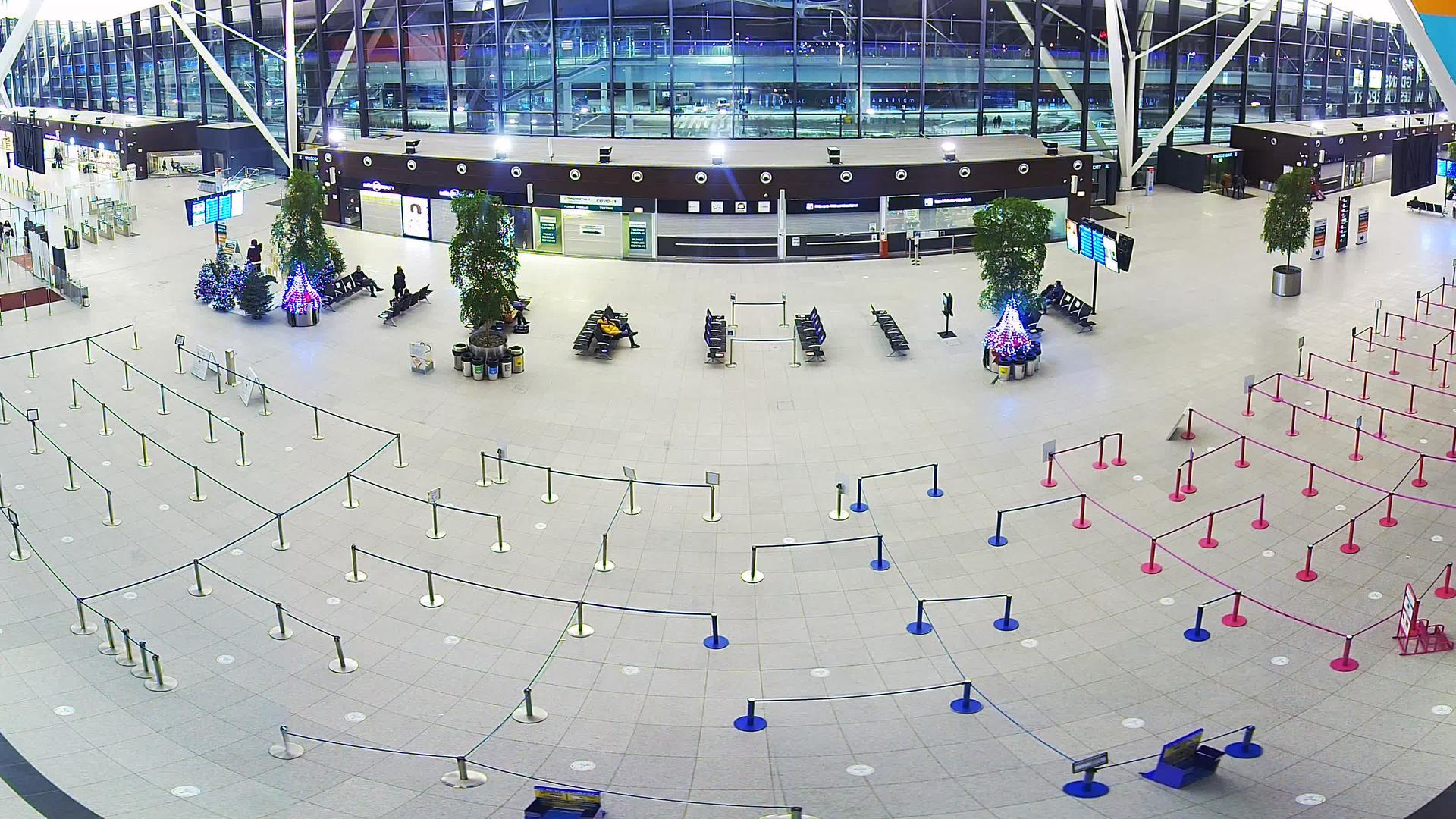 Webcam Gdańsk: Terminal T2 HD webcam Lech Walesa Airport