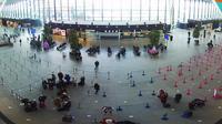 Gdansk: Terminal T HD webcam Lech Walesa Airport - Dia