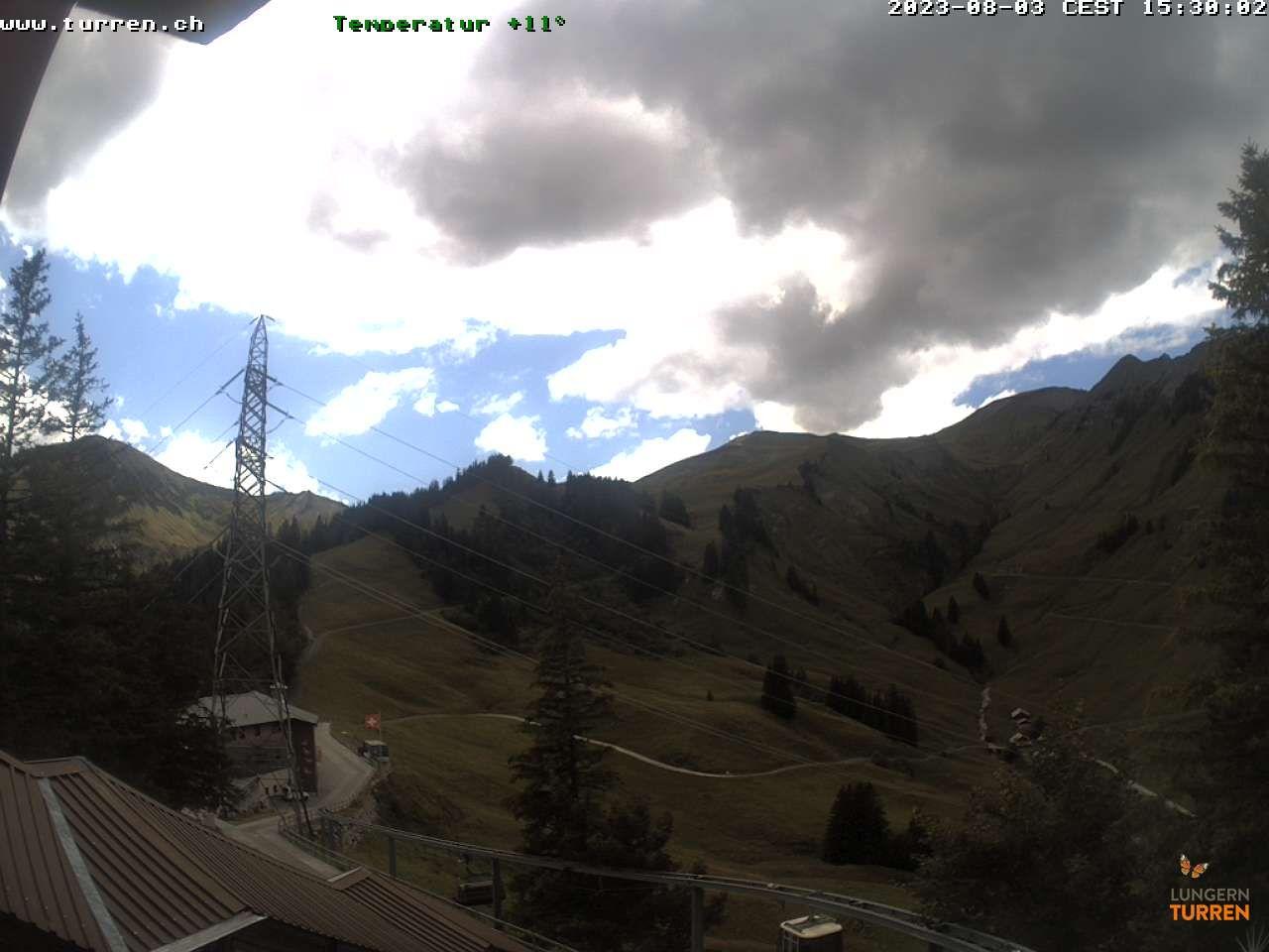 Lungern › West: Bergstation: Bergstation - Turren Bahn
